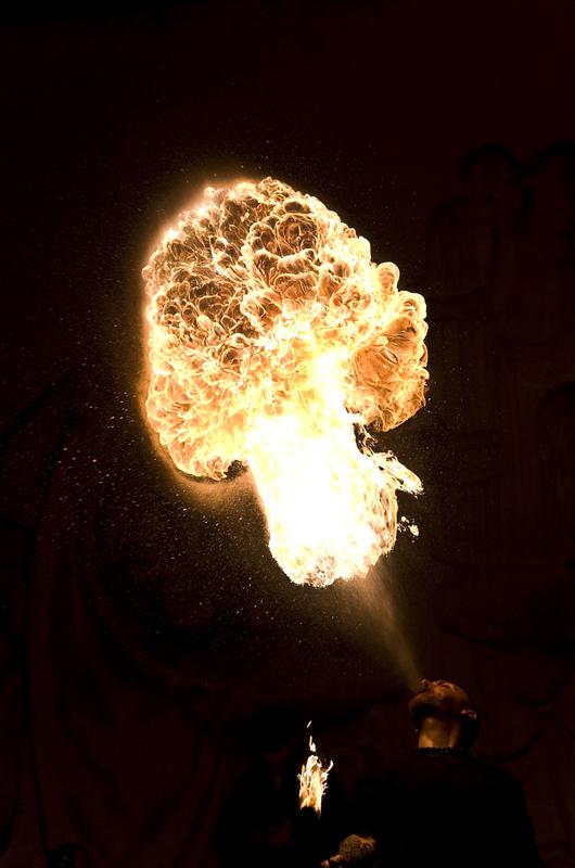 rencontre cracheur de feu au palais de tokyo Fire2a